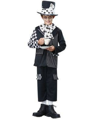 Dark Mad Hatter Boys Halloween Costume