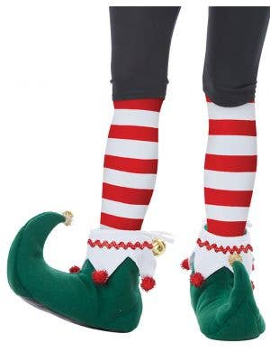 California Costumes Christmas elf adults costume accessory shoes - Main Image