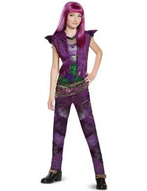 Mal Descendants 2 Girl's Disney Classic Isle Costume