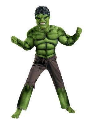 Hulk Avengers Boy's Muscle Chest Costume