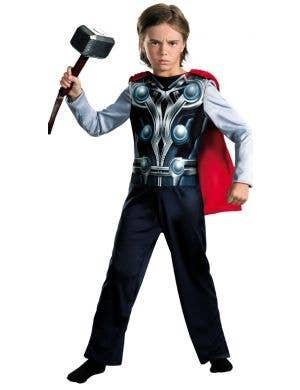 Avengers Assemble - Boys Thor Superhero Costume