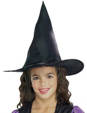 Wild N Witchy Kids Black Witch Costume Hat