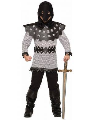 Medieval Knight Boys Halloween Fancy Dress Costume