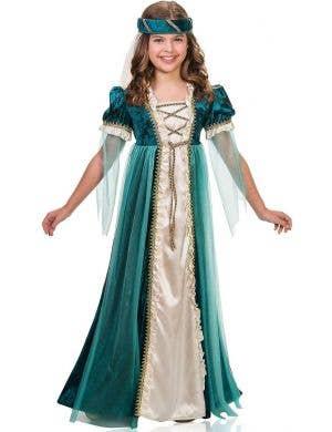 Juliet Emerald Green Girl's  Deluxe Book Week Costume