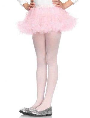 Enchanted Girl's Light Pink Petticoat Costume Accessory