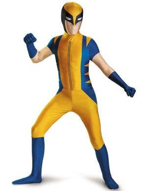 Classic Wolverine Boys Second Skin Costume