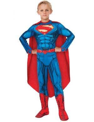 Superman Boy's New 52 Comic Book Superhero Costume