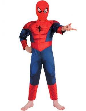 Spiderman Boy's Superhero Book Week Costume Front
