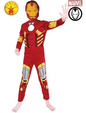Iron Man Boy's Officially Licensed Superhero Costume