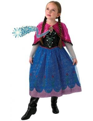 Princess Anna Girls Disney Frozen Costume