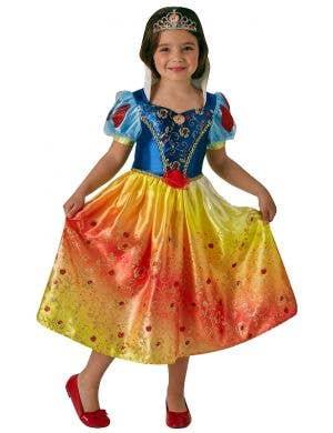 Disney Princess Snow White Girls Fancy Dress Costume