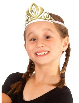 Frozen Anna Fabric Tiara Costume Accessory