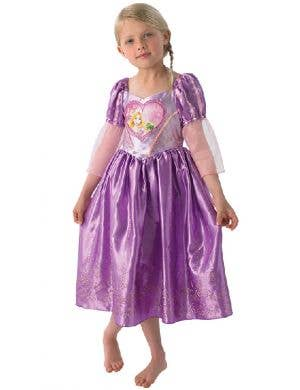 Rapunzel Girl's Tangled Disney Princess Fancy Dress Costume