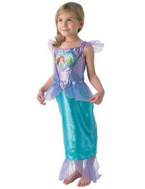 Ariel The Little Mermaid Girls Disney Princess Fancy Dress Costume