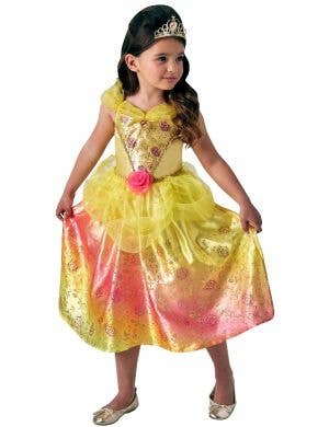 Belle Girls Disney Princess Fancy Dress Costume