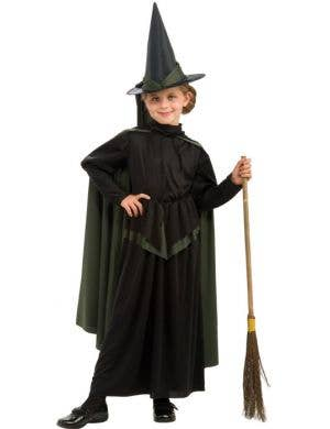 Wizard Of Oz - Girls Wicked Witch Costume