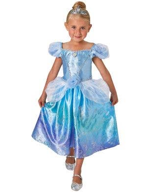 Cinderella Girls Disney Princess Fancy Dress Costume
