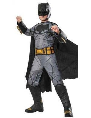Premium Deluxe Boys Batman Fancy Dress Costume