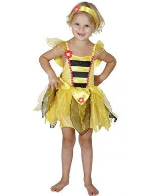 Yellow Bumble Bee Girls Budget Book Week Costume
