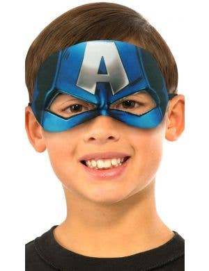 Licensed Captain America Kids Mask