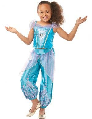Jasmine Gem Princess Girls Disney Costume