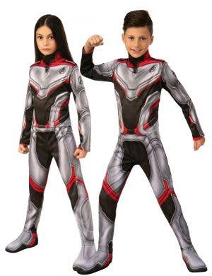 Avengers Endgame Team Suit Unisex Kids Costume
