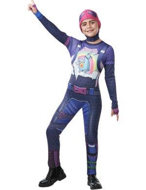 Fortnite Brite Bomber Tween Girls Video Game Book Week Costume