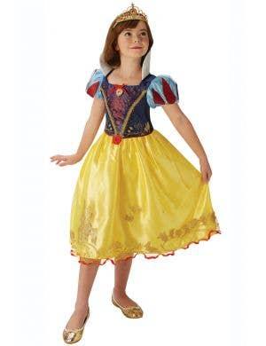 Storyteller girls Snow White Disney Princess Book Week fancy dress costume full length