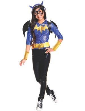 Superhero High Girl's Batgirl Fancy Dress Costume