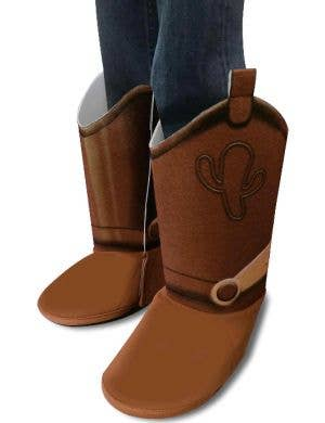 Toy Story 4 Officially Licensed Boy's Woody Boot Covers