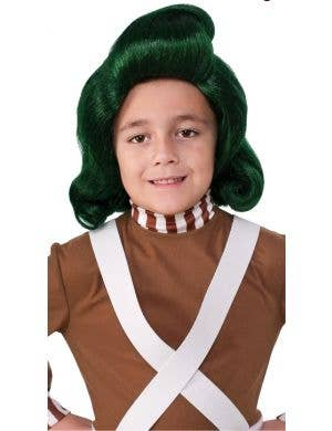 Oompa Loompa Kid's Costume Wig
