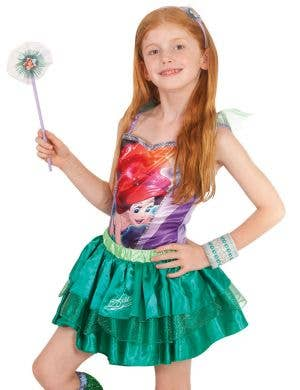 Disney The Little Mermaid Girls Green Ariel Tutu Skirt
