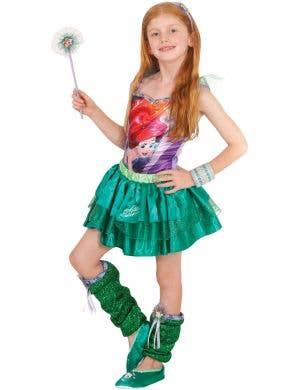 Disney The Little Mermaid Girls Ariel Costume Top