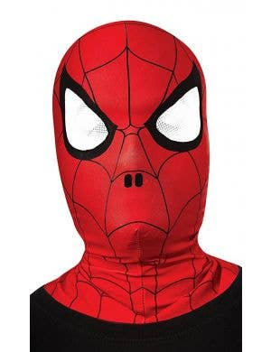 Kids Spiderman full face mask main image