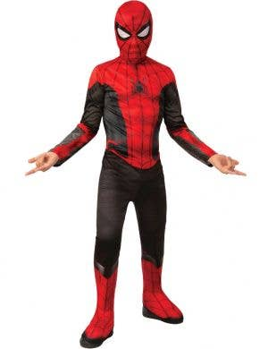 Spiderman Far From Home Boys Upgraded Suit Costume