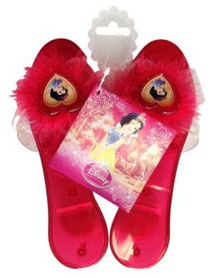 Girls Red Snow White Costume Shoes