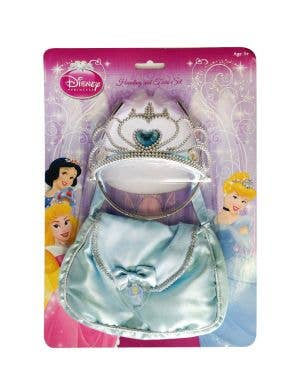 Disney Princess Cinderella Girls Handbag and Crown Set