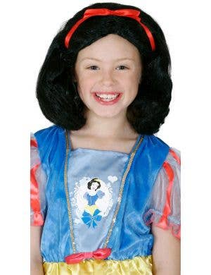 Disney Princess Snow White Girl's Black Costume Wig