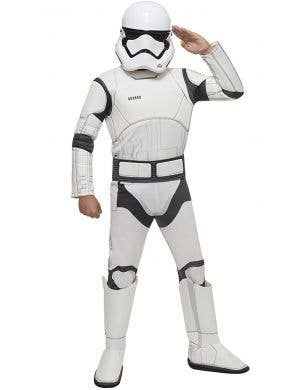 Deluxe Star Wars Storm Trooper Kids Costume