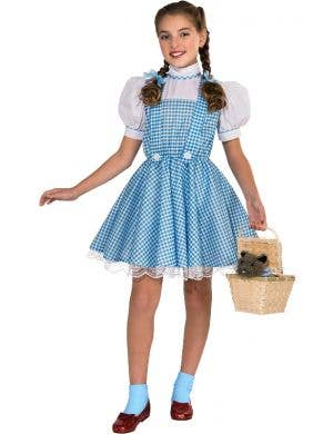 Dorothy Deluxe Farm Girl Wizard of Oz Girls Book Week Costume
