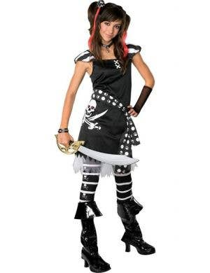 Scar-Let Drama Queen Tween Pirate Costume