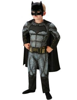 Dawn of Justice Deluxe Boy's Muscle Chest DC Batman Costume