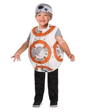 Toddler boys BB-8 Star Wars droid costume main image