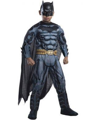 DC Comics Boy's Muscle Chest Batman Superhero Costume