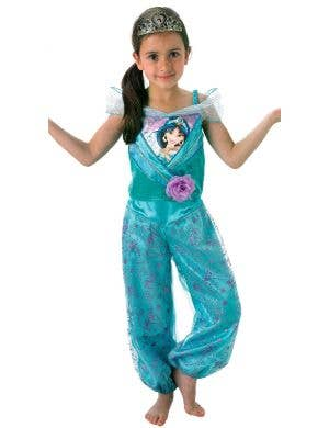Disney Princess Jasmine Girls Fancy Dress Costume