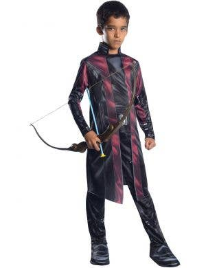 Hawkeye Kids Age Of Ultron Avengers Fancy Dress Costume