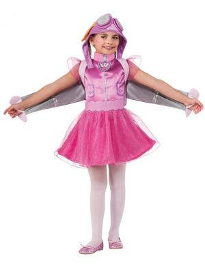 Girls Skye Paw Patrol Fancy Dress Costume Front Image
