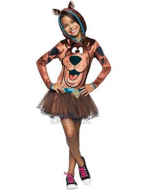 Girls Tutu Dress Scooby Doo Fancy Dress Costume