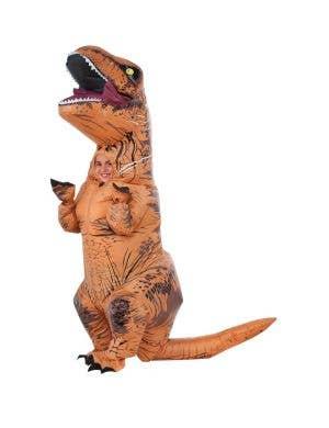 Inflatable Tyrannosaurus Rex Kids Dinosaur Costume