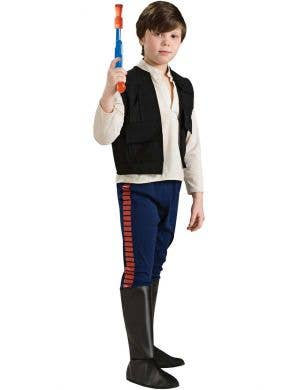 Deluxe Boy's Han Solo Star Wars Costume